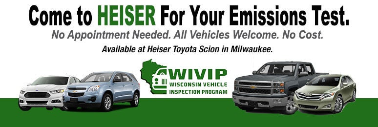 Heiser Automotive Group Milwaukee Wi Emissions Testing